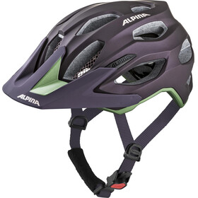 Alpina Carapax 2.0 Kask rowerowy fioletowy